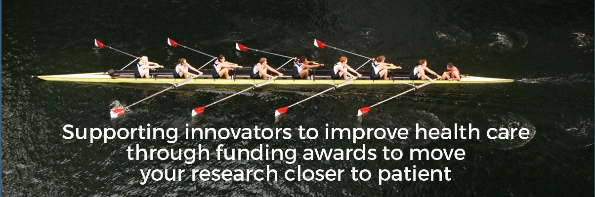 Supporting innovators to improve health care through funding awards